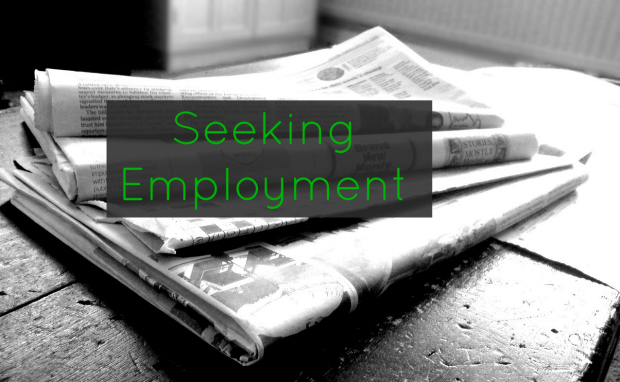 Seeking Employment - Looking for employment in the Irish publishing industry